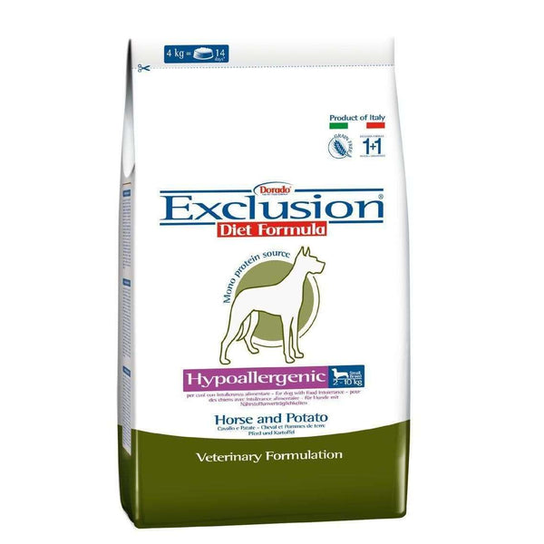 Exclusion Diet Hypo - Adult Dog /Small Breed Horse And Potato 800gr