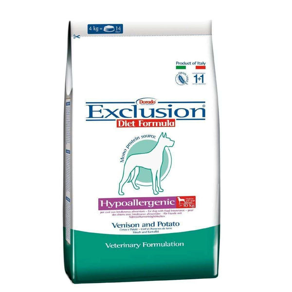 Exclusion Diet Hypo - Deer and Potatoes Adult Medium/Large breed 12,5kg