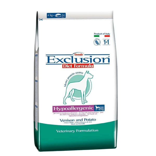 Exclusion Diet Hypo - Adult Dog /Small Breed Deer And Potato 2kg