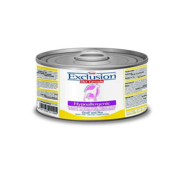 Exclusion Diet Hypo - Adult Dog /Quail And Pea 200gr