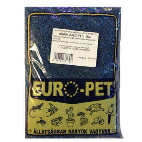 Europet Aquarium Soil marble crushed stone blue 1-1,5 mm 0,5l