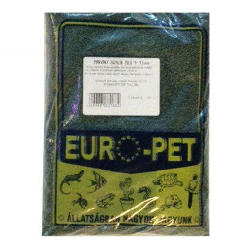 Europet Aquarium Soil Marble Crushed Stone Green 1-1,5 mm 0,5l