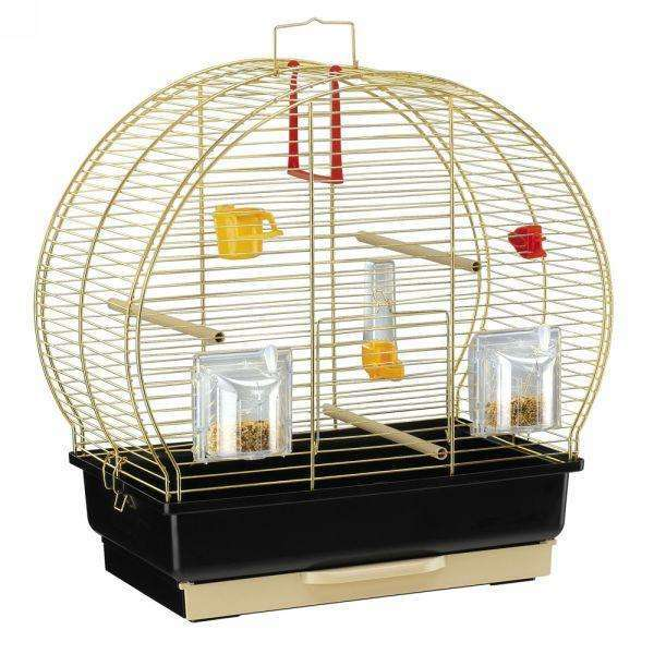 Ferplast LUNA 2 BRASS Canary and small exotic bird cage