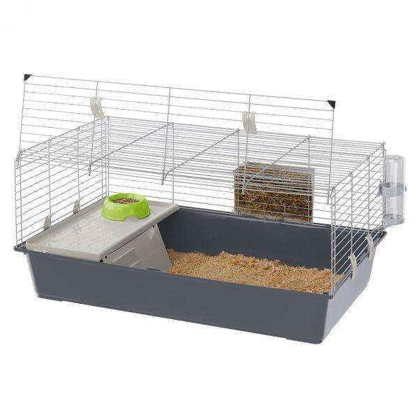 Ferplast Rabbit 100 Rabbit Cage With Opening Door