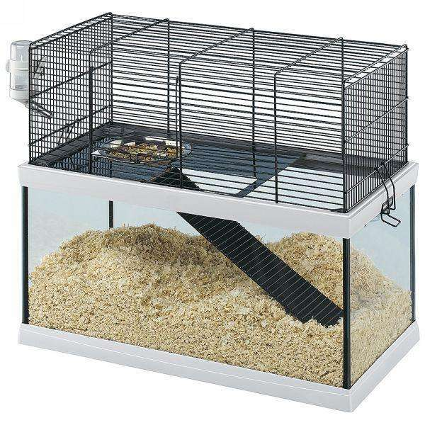 Ferplast Gabry 50 Rodent,Gerbil,Mice cage, made of glass