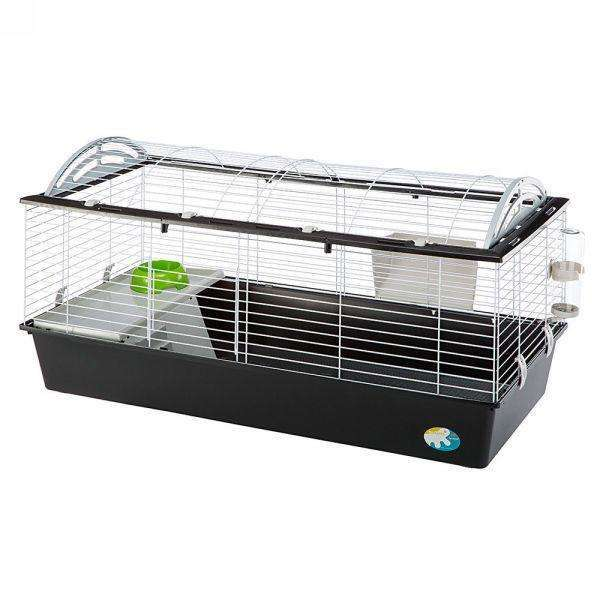 Ferplast Casita 120 Rabbit And Guinea Pig Cage, With Wide Room