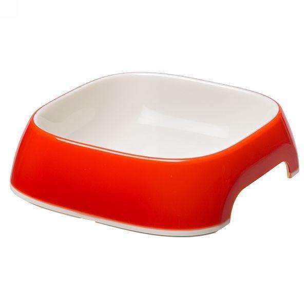 Ferplast Glam Extra Small Plastic Bowl For Dogs And Cats Red