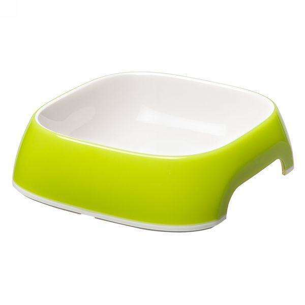 Ferplast Glam Extra Small Plastic Bowl For Dogs And Cats Green