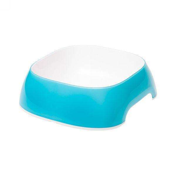 Ferplast Glam Medium Plastic Bowl For Dogs And Cats Azure