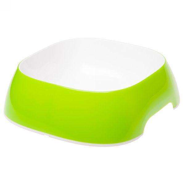 Ferplast Glam Large Plastic Bowl For Dogs And Cats Green