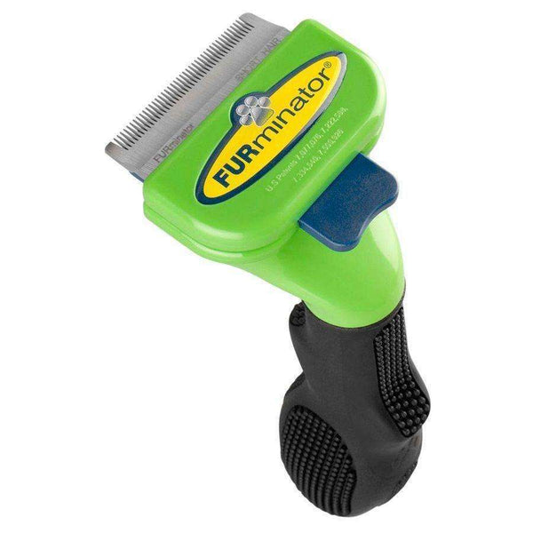 FURminator Short Hair DeShedding Brush for Small Dogs
