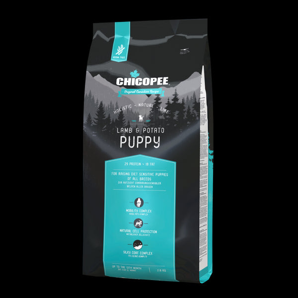 Chicopee Holistic Nature Line Grain Free Puppy Lamb & Potato 2kg