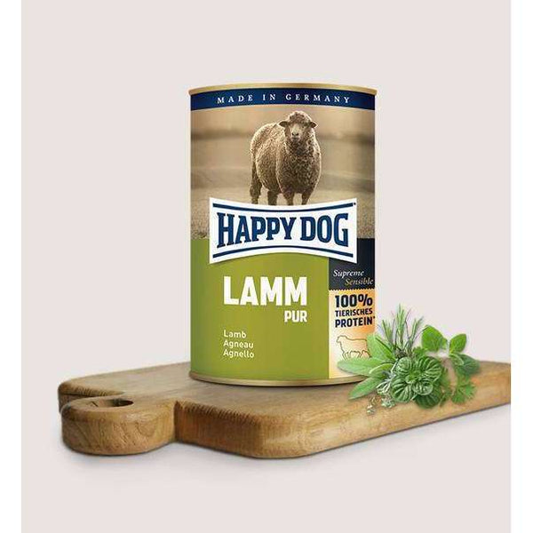 Happy Dog Pure Lamb - 12x400g