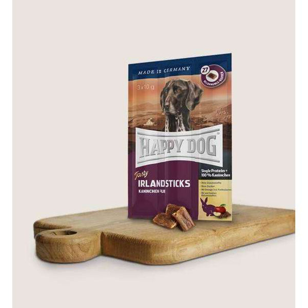 Happy Dog Snacks - Tasty Irland Sticks - 3x10g