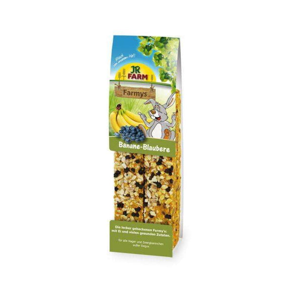 JR FARM Farmys Banana - Blueberry 160gr