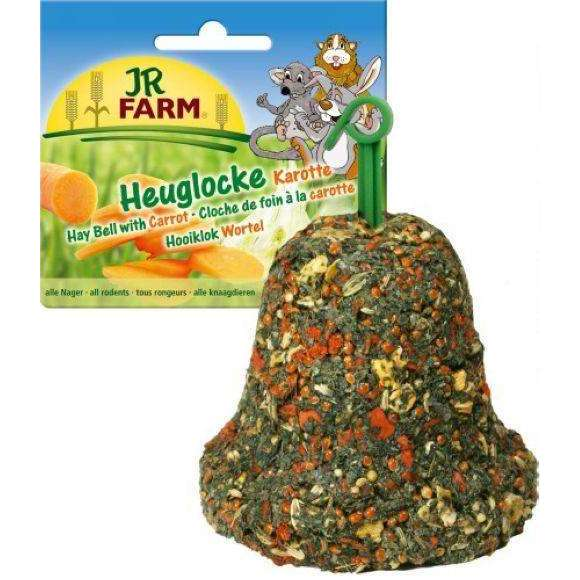 JR FARM Hay Bell with Carrot125gr