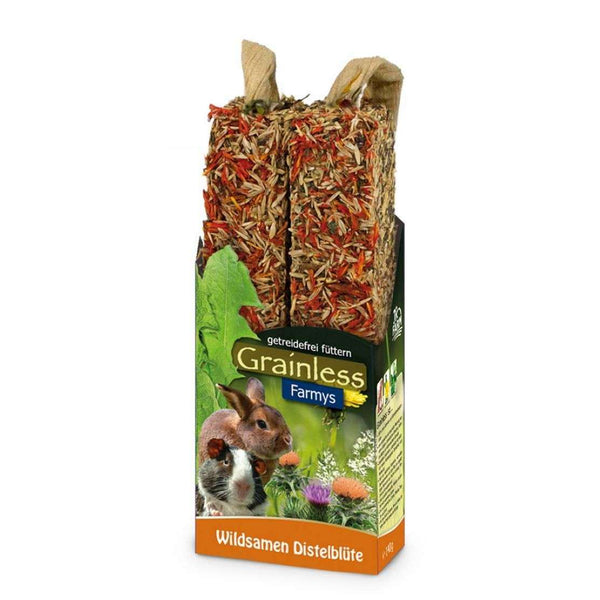 JR Grainless Farmys Wild Seed-Thistle flower 140gr