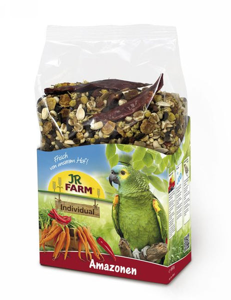 JR Farm Premium Birds Individual for Amazon Parrots 950gr