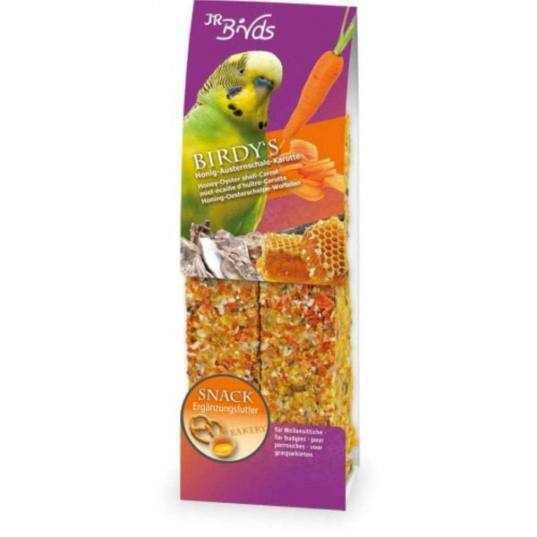 JR Birdys Budgie food with honey & oysters 2pcs