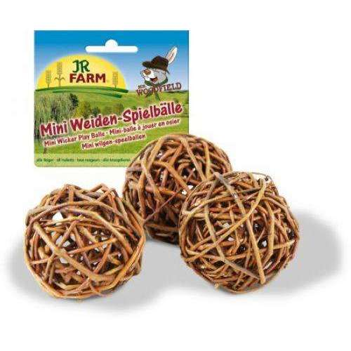 JR Mini Willow Play Balls 3db