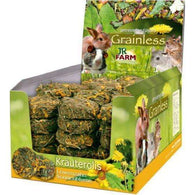JR Grainless herb rolls Dandelion-Sunflower 70gr