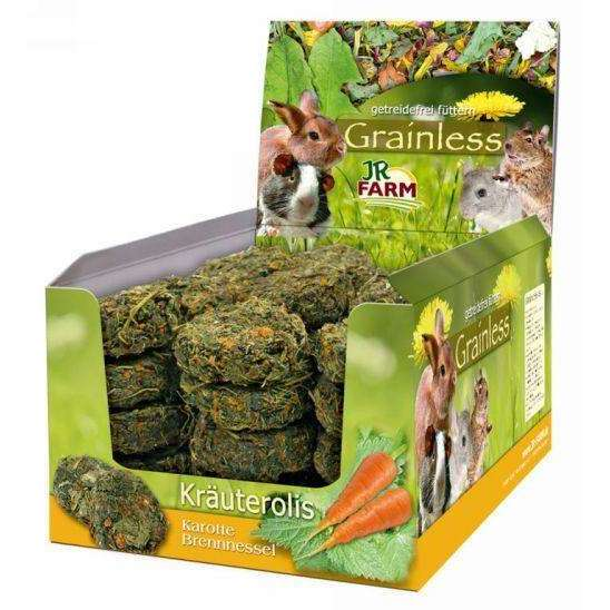 JR Grainless herb rolls Stinging nettle-Carrot 80gr