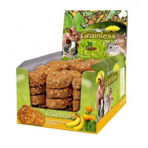 JR Grainless herb rolls Marigold-Banana 80gr