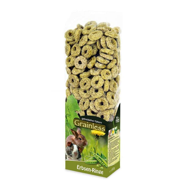 JR Grainless Pea Rings 150gr