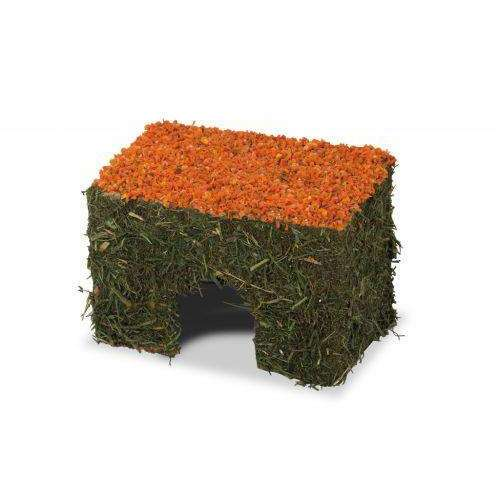 JR FARM Hay house small with carrots 75g