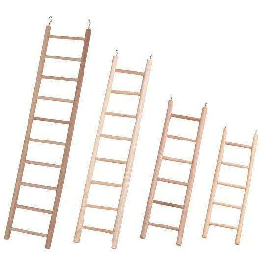 Karlie-FLM Birdie Karlie Bird's Wooden Ladders With 6 steps
