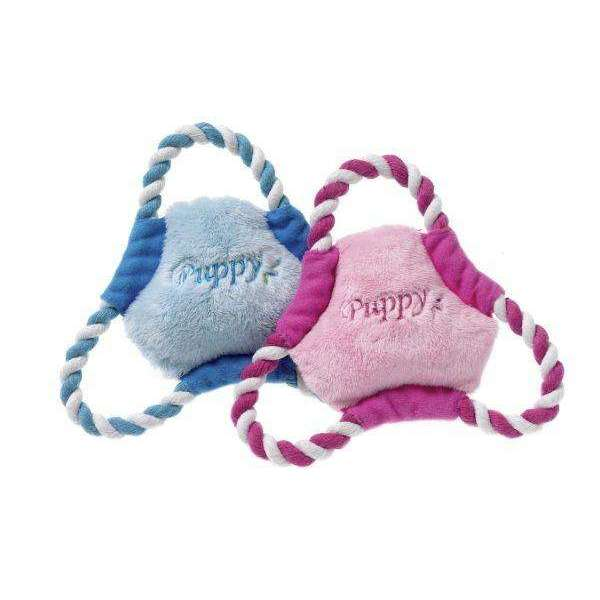 Karlie Puppy Frisbee And Doggy Soft Toy
