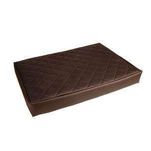 Karlie Art Leather Bed (Brown) 116cm Large
