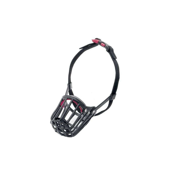Karlie Muzzle With Click Fastener - 21*25-38cm (Black)