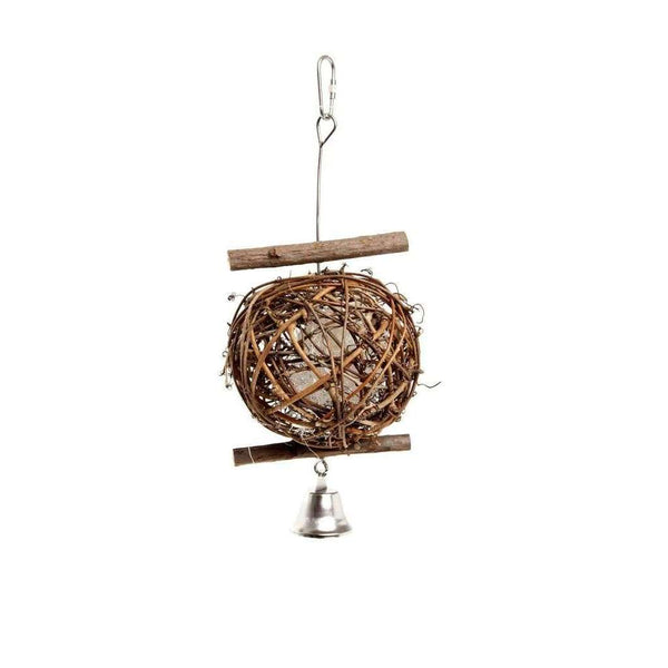 Karlie Birdie Wooden bird ball bird toy 100mm