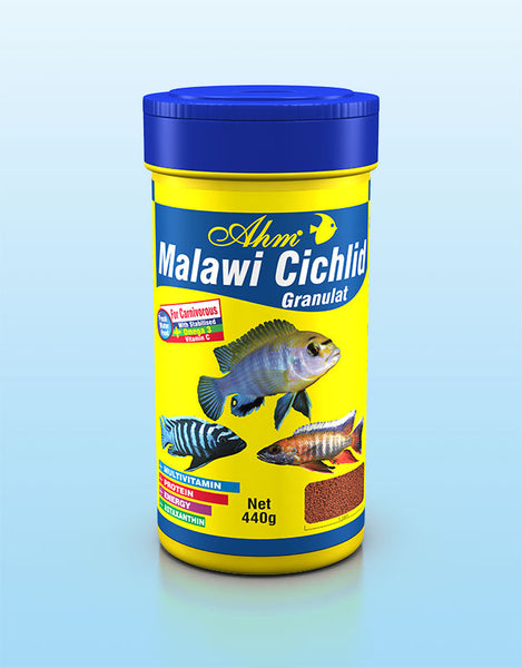 AHM Malawi Cichlid Granulat food 100ml