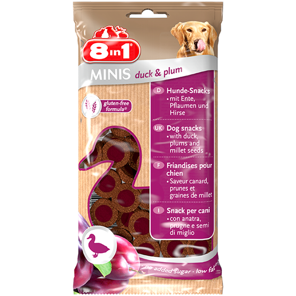 8in1 Minis Duck & Plum - 100g