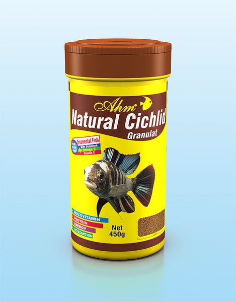 AHM Natural Cichlid Granulat 250ml