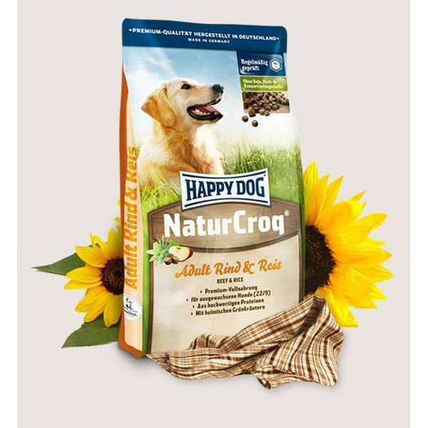 Happy Dog Premium - NaturCroq  Beef & Rice - 15 kg