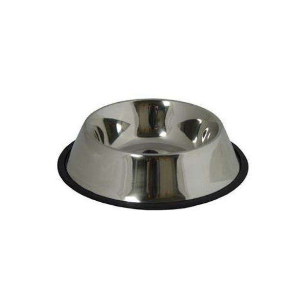 Papillon Anti Skid Feed Bowl Metal 1,8L