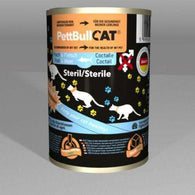 PettBull Cat Fish And Meat Canned For Steril Cats (400g)