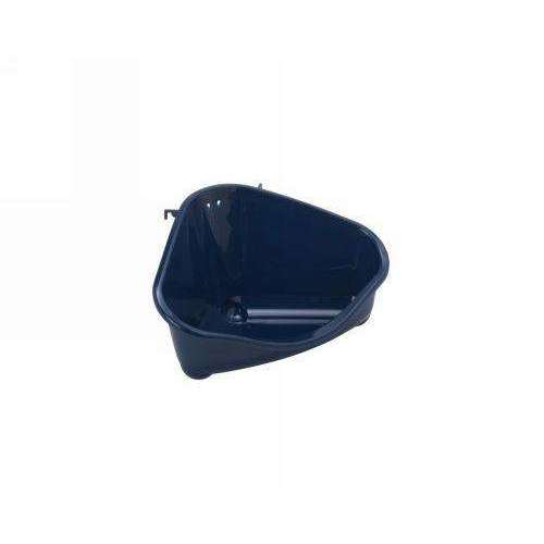 Moderna Corner Rodent Toilet Medium - Blue Berry