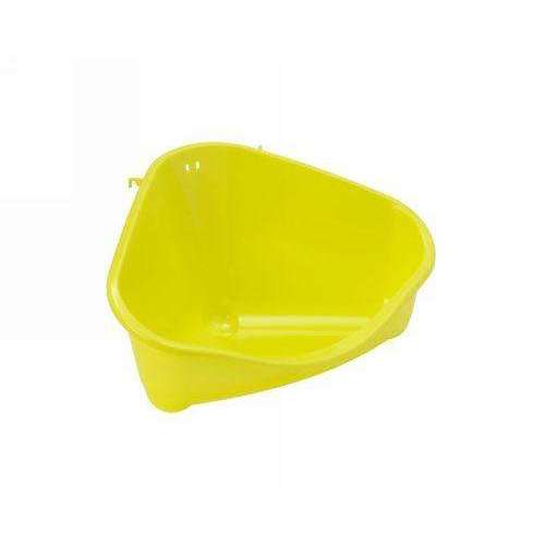 Moderna Corner Rodent Toilet Large - Yellow