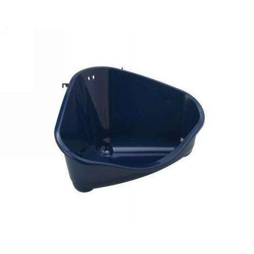 Moderna Corner Rodent Toilet Large - Blue Berry