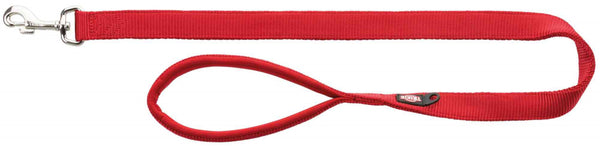 Trixie Premium Leash L–XL 1.00m/25mm Red
