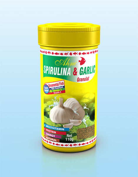 AHM Spirulina & Garlic Granulat 100ml