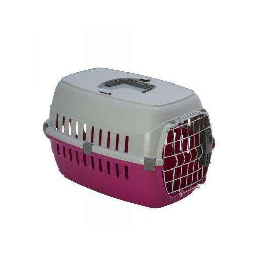 Moderna Road Runner Carrier 1 - With Spring Lock Door - Hot Pink