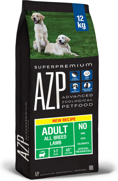 AZP Adult All Breed Lamb - Dog Dry 12kg