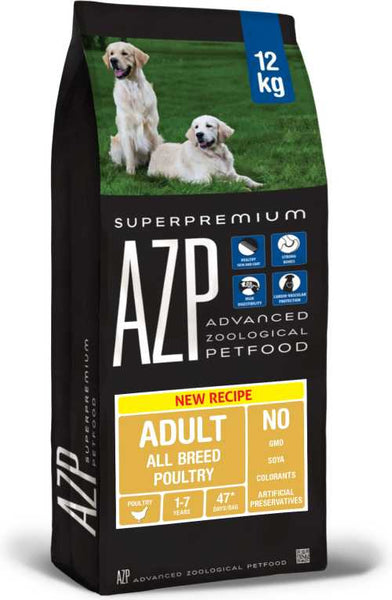 AZP Adult All Breed Poultry - Dog Dry 12kg