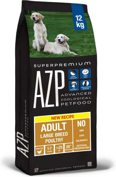 AZP Adult Large Breed Poultry - Dog Dry 12kg
