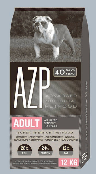 AZP Adult All Breed Sensitive - Dog Dry 12kg